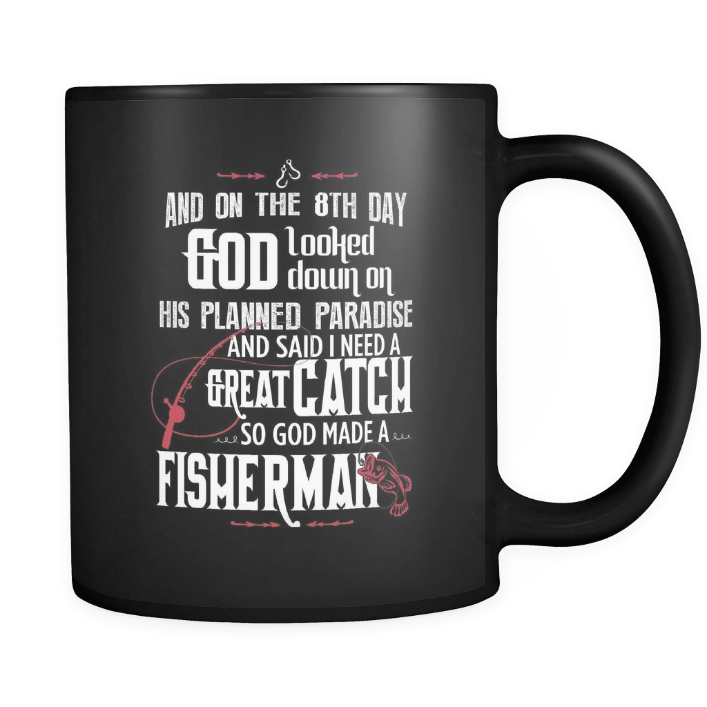 And On The 8th Day... - Luxury Fishing Mug