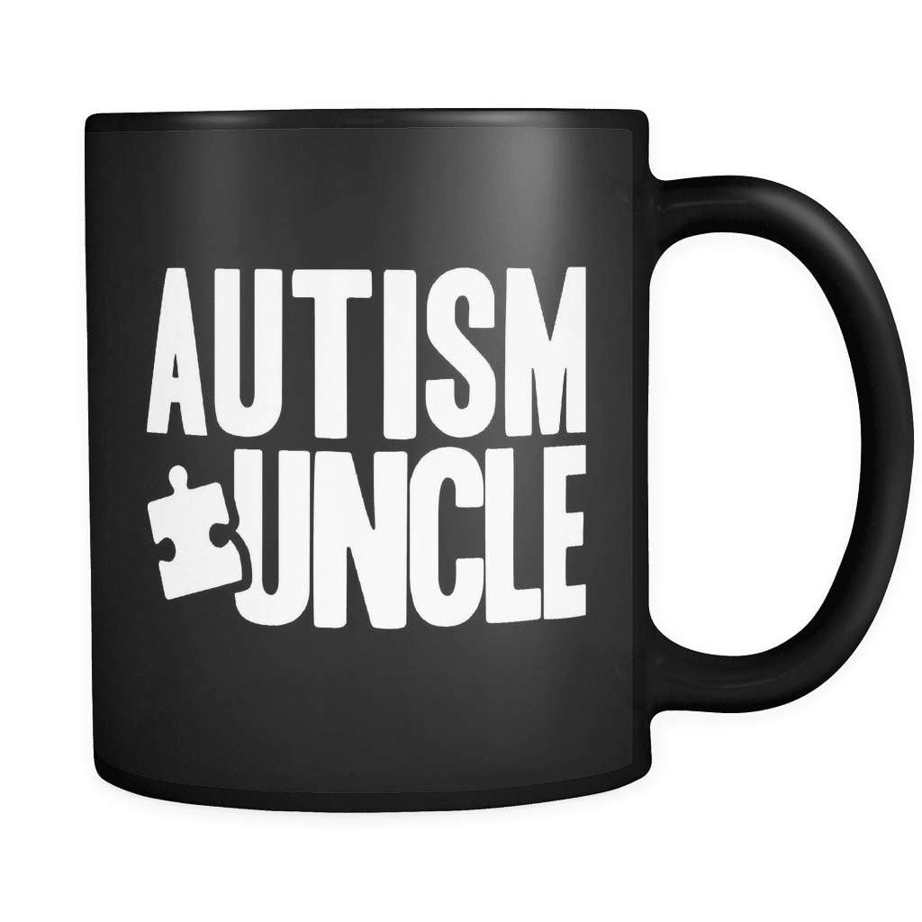 Autism Uncle - Luxury Mug - snazzyshirtz.com