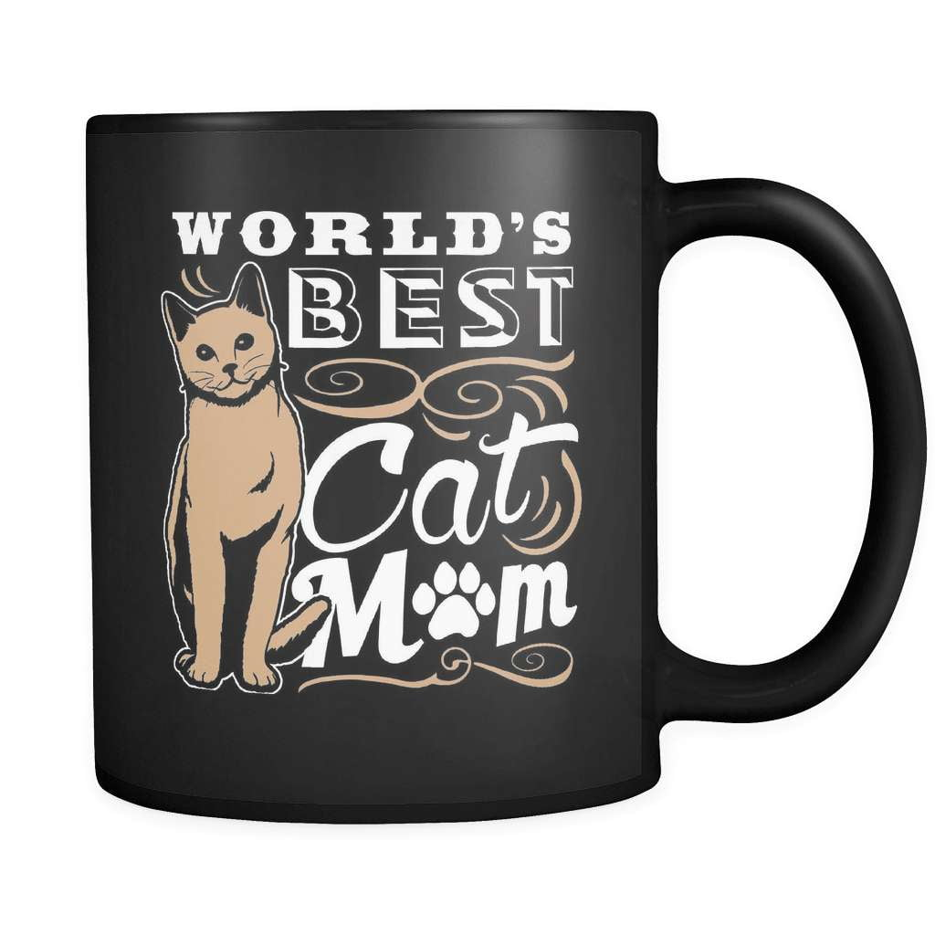 Best Cat Mom - Luxury Mug