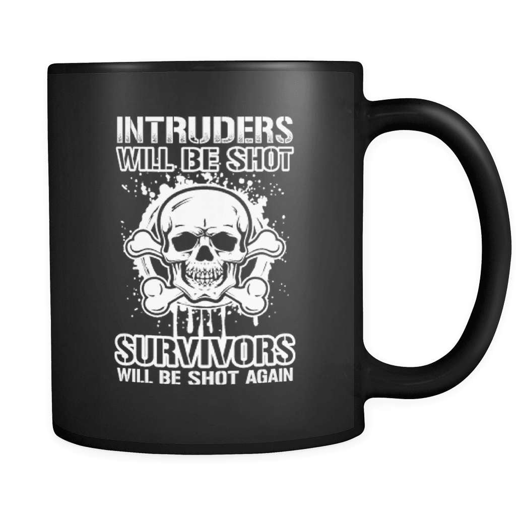 Intruders - Luxury Gun Mug