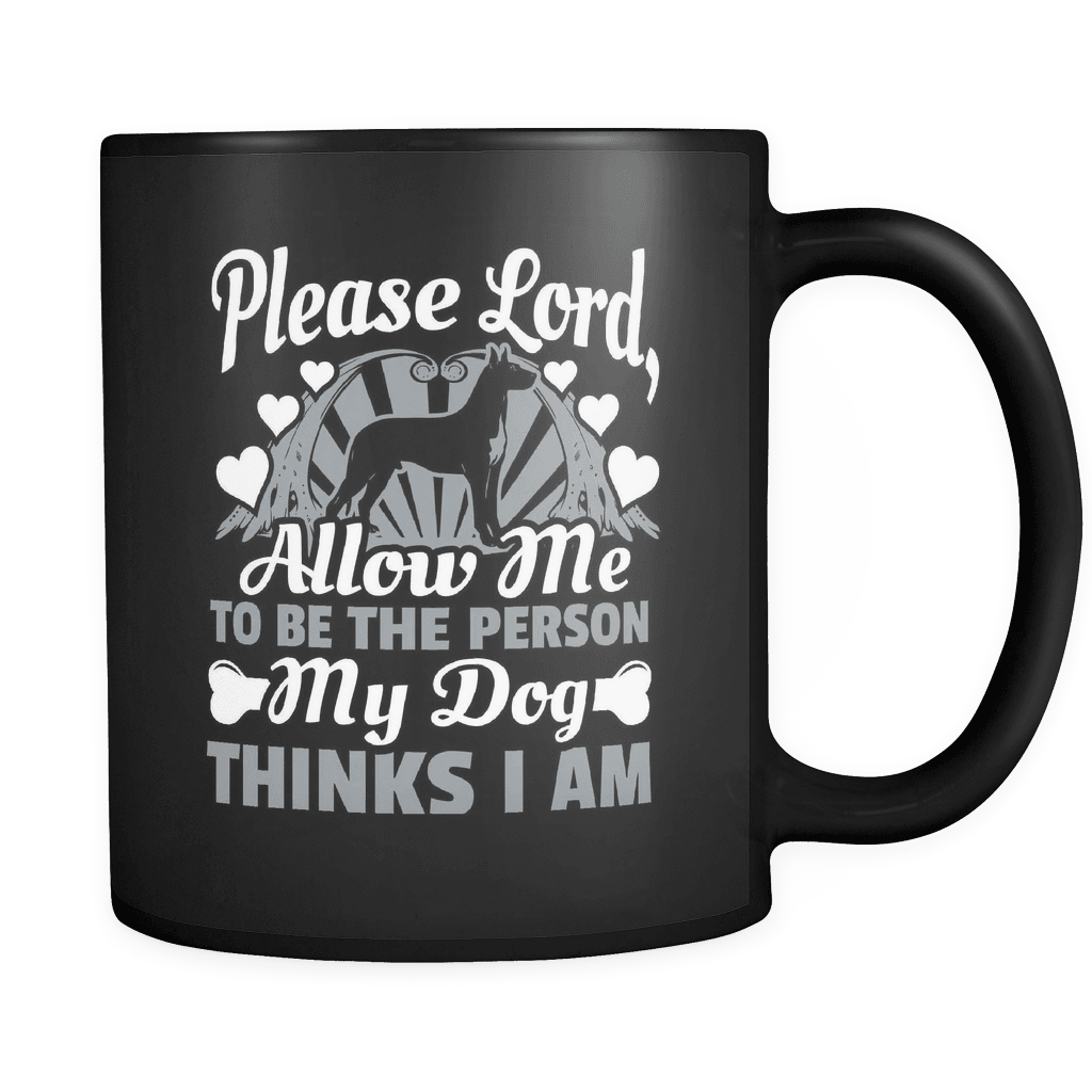 Please Lord - Luxury Dog Mug