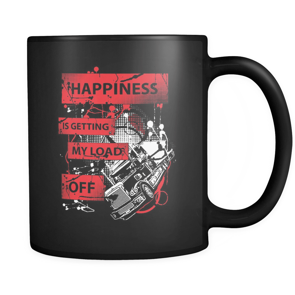 Happiness - Luxury Trucker Mug
