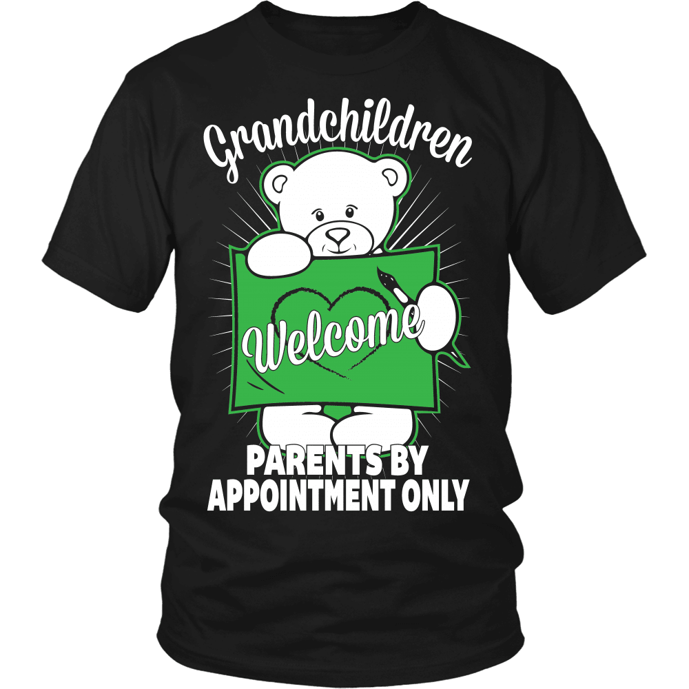 Grandparents T-Shirt Design - Welcome