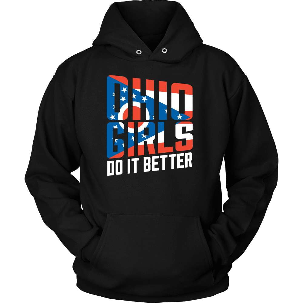 Ohio T-Shirt Design - Ohio Girls Do It Better - snazzyshirtz.com