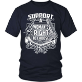 Gun T-Shirt Design - Support A Woman's Choice!