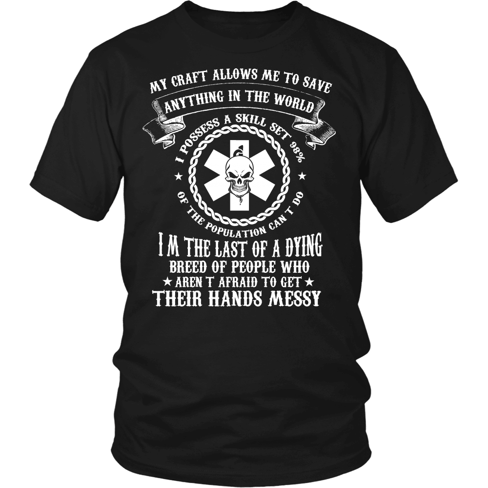 Nurse T-Shirt Design - Anything In The World