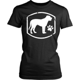 Mastiff T-Shirt Design - Mastiff Paw