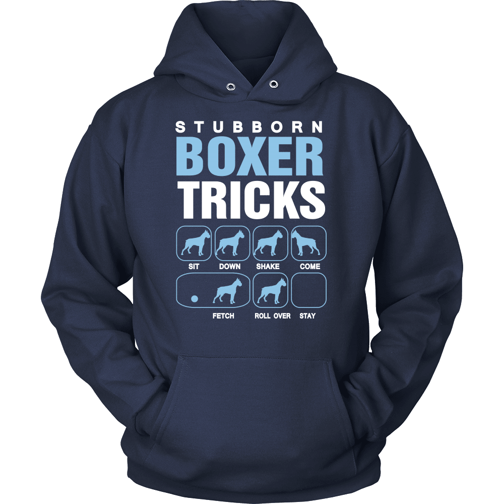 Boxer T-Shirt Design - Stubborn Tricks