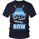 Knitting T-Shirt Design - Addicted to Knitting