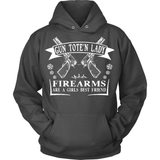 Gun T-Shirt Design - Firearms Are A Girl's Best Friend