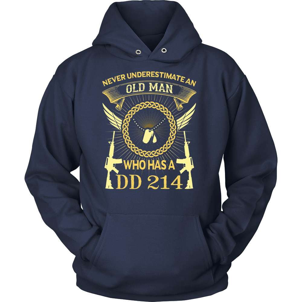 Veteran T-Shirt Design - Old Man With A DD214