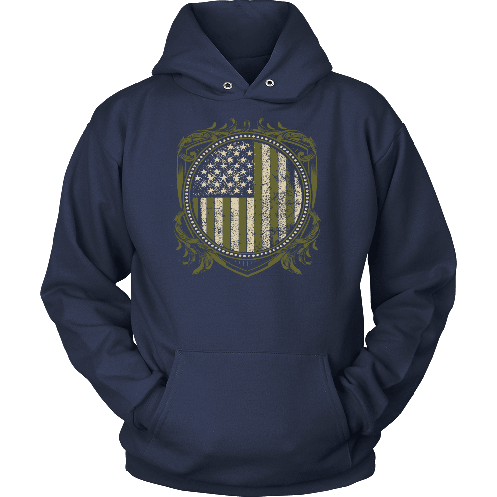 Veteran T-Shirt Design - U.S Veteran Crest