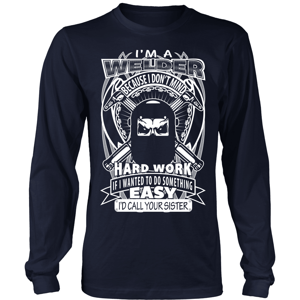 Welder T-Shirt Design - Easy Welder