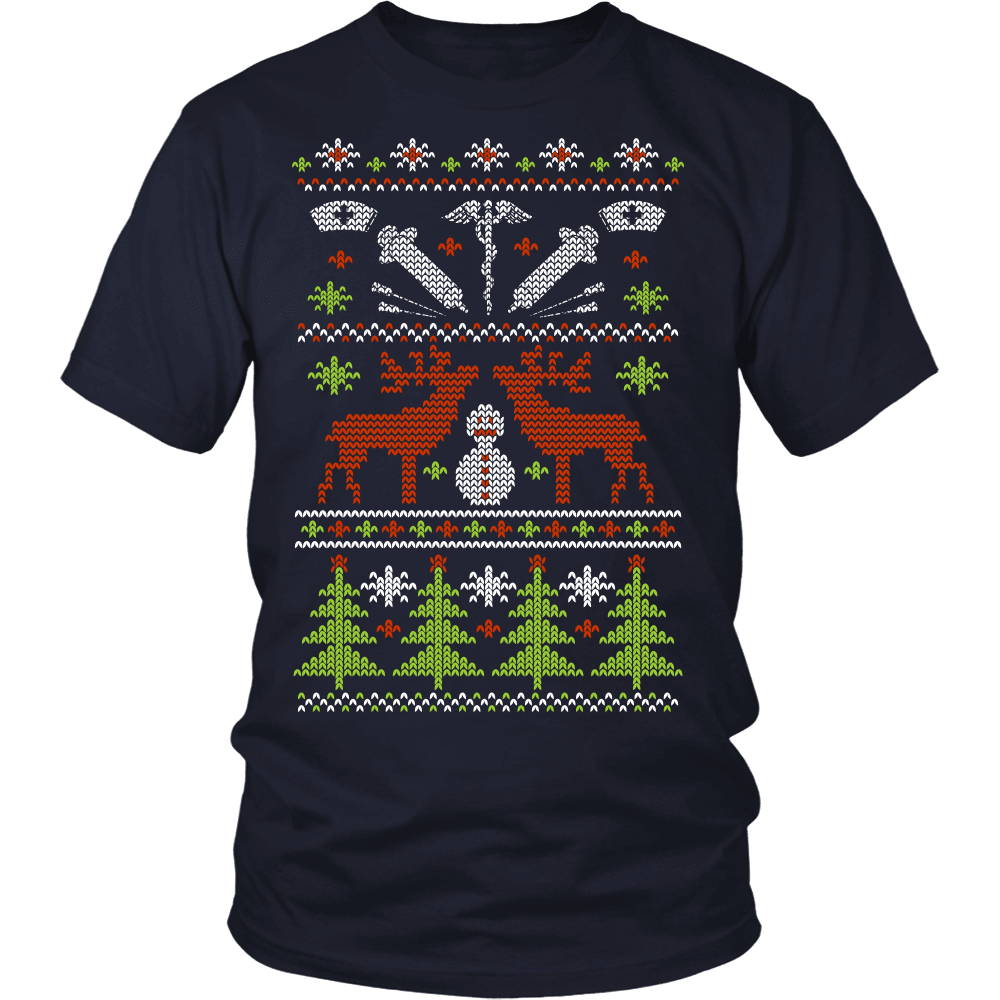 Christmas Nurse T-Shirt Design