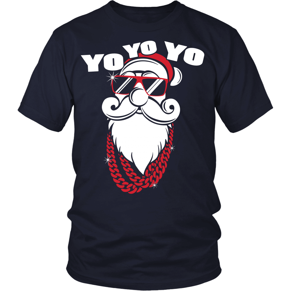 Christmas T-Shirt Design - Cool Santa