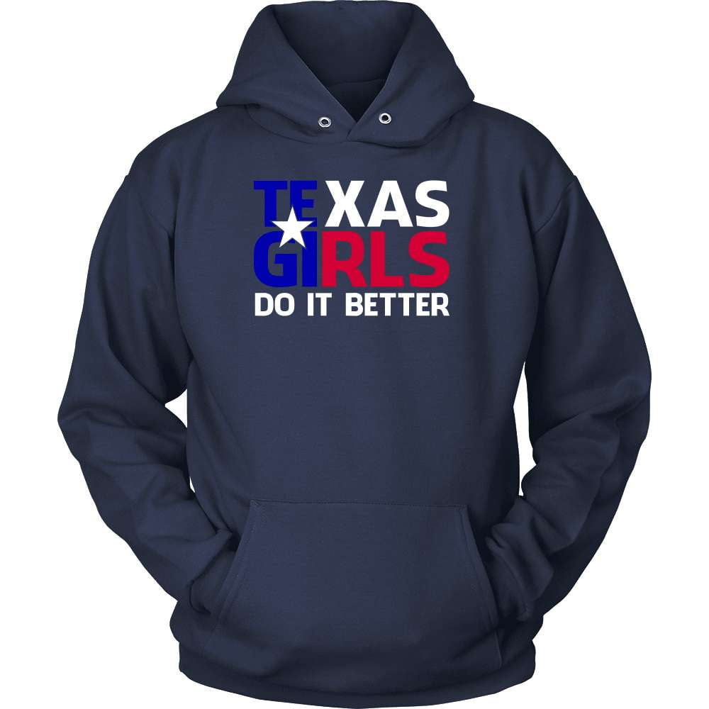 Texas T-Shirt Design - Texas Girls Do It Better