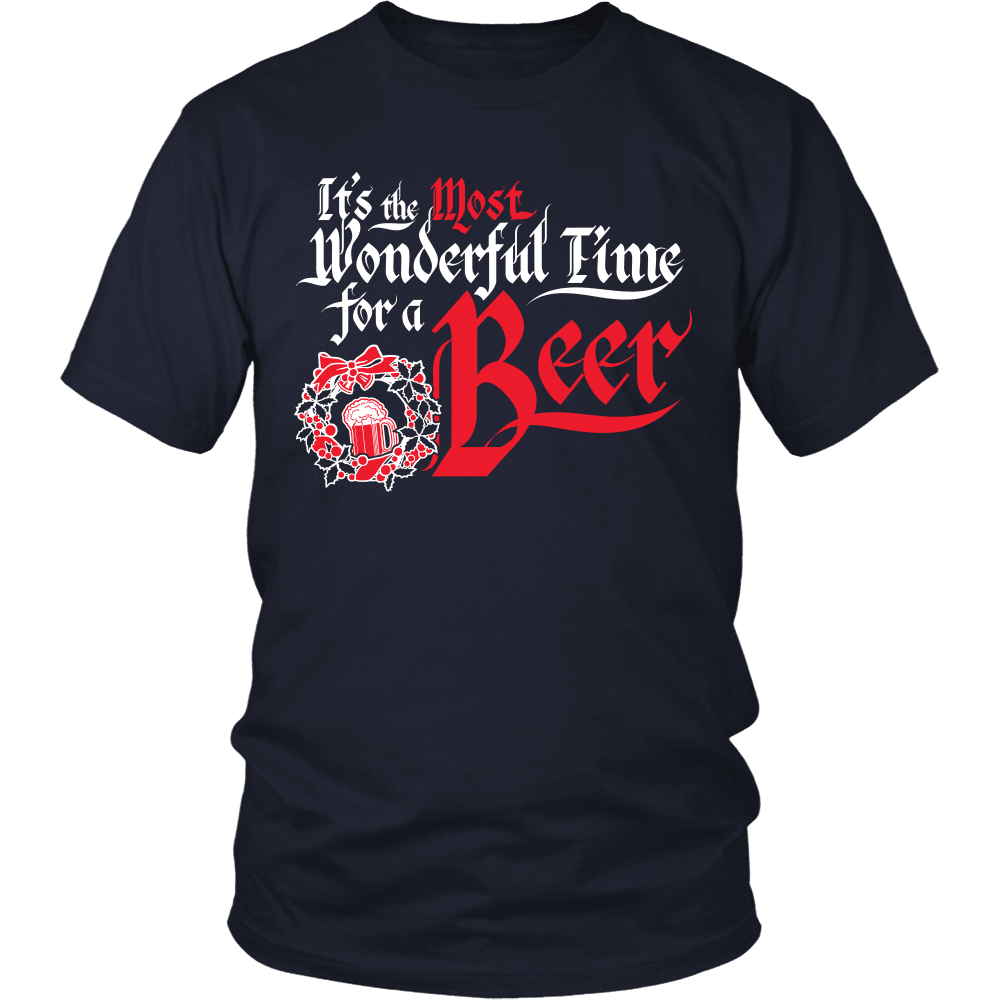 Christmas T-Shirt Design - Wonderful Beer