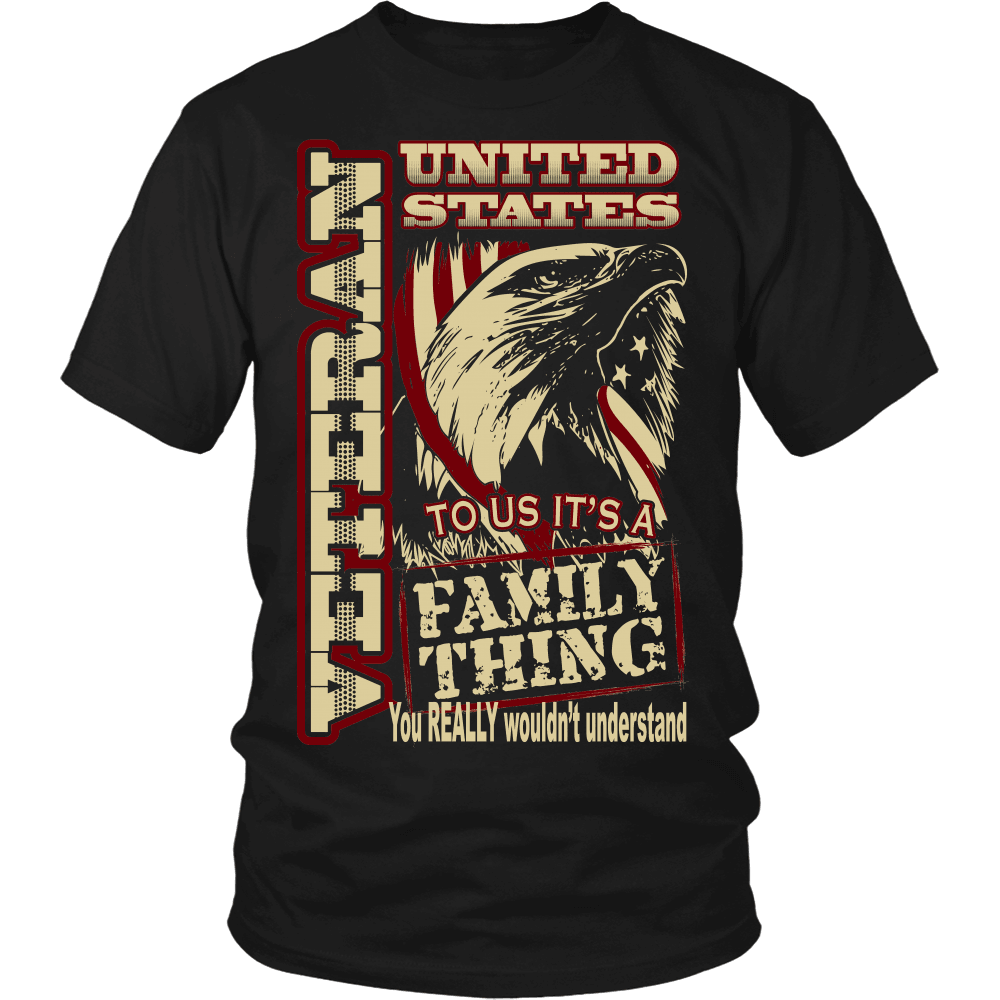 Veteran T-Shirt Design - Family Thing