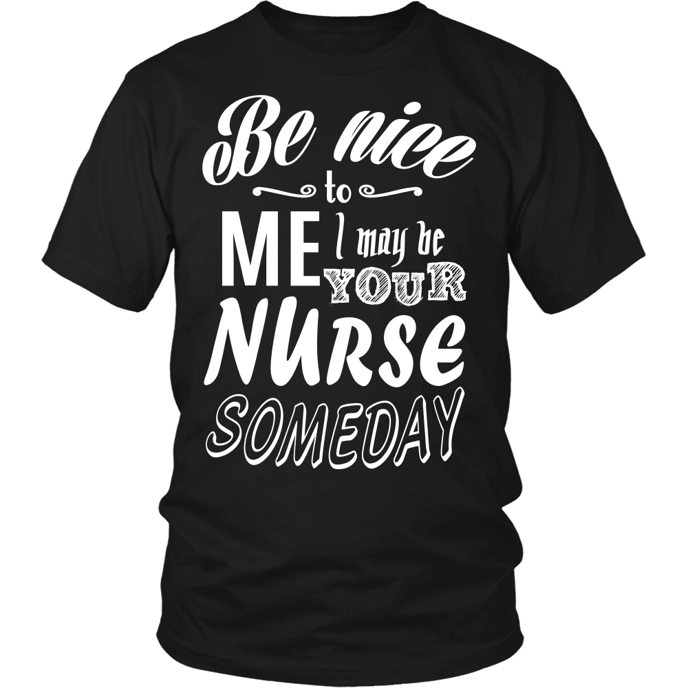 Nurse T-Shirt Design - Some Day