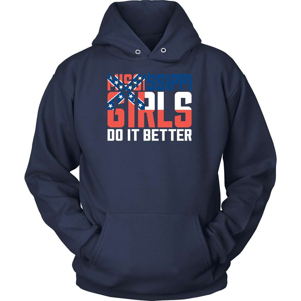 Mississippi T-Shirt Design - Mississippi Girls Do It Better