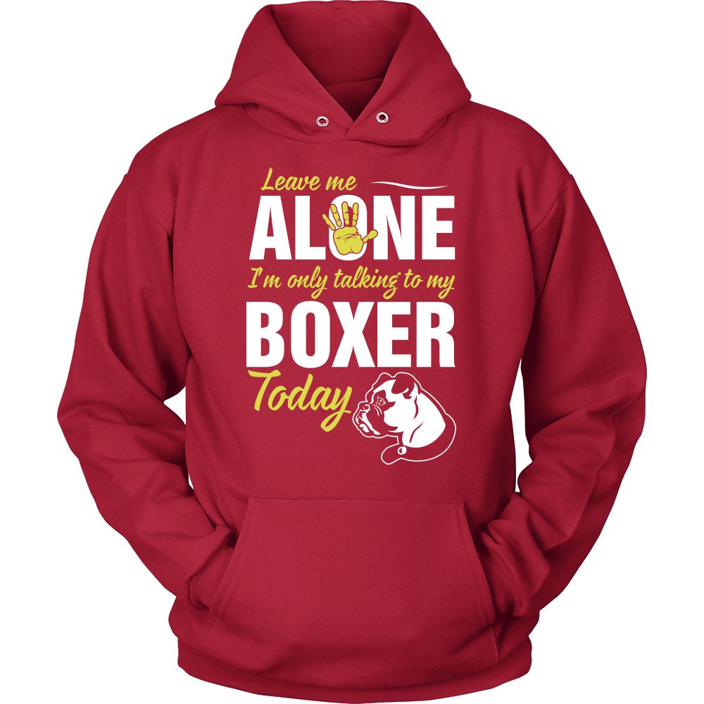 Boxer T-Shirt Design - Leave Me Alone