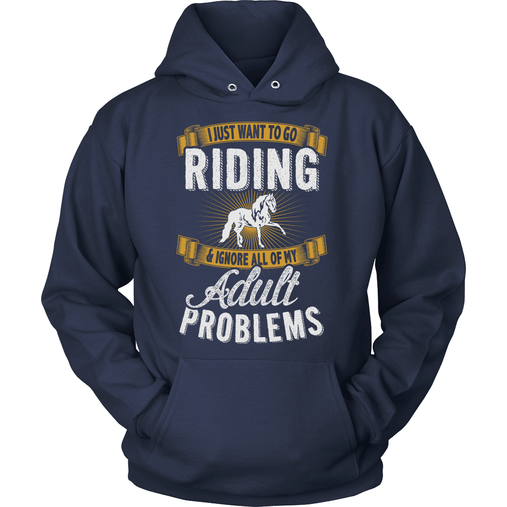 Horse T-Shirt Design - Want To Go Riding