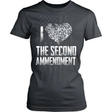 Gun T-Shirt Design - I Love The Second