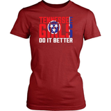 Tennessee T-Shirt Design - Tennessee Girls Do It Better