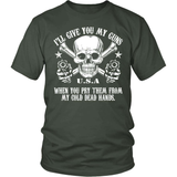 Gun T-Shirt Design - Cold Dead Hands