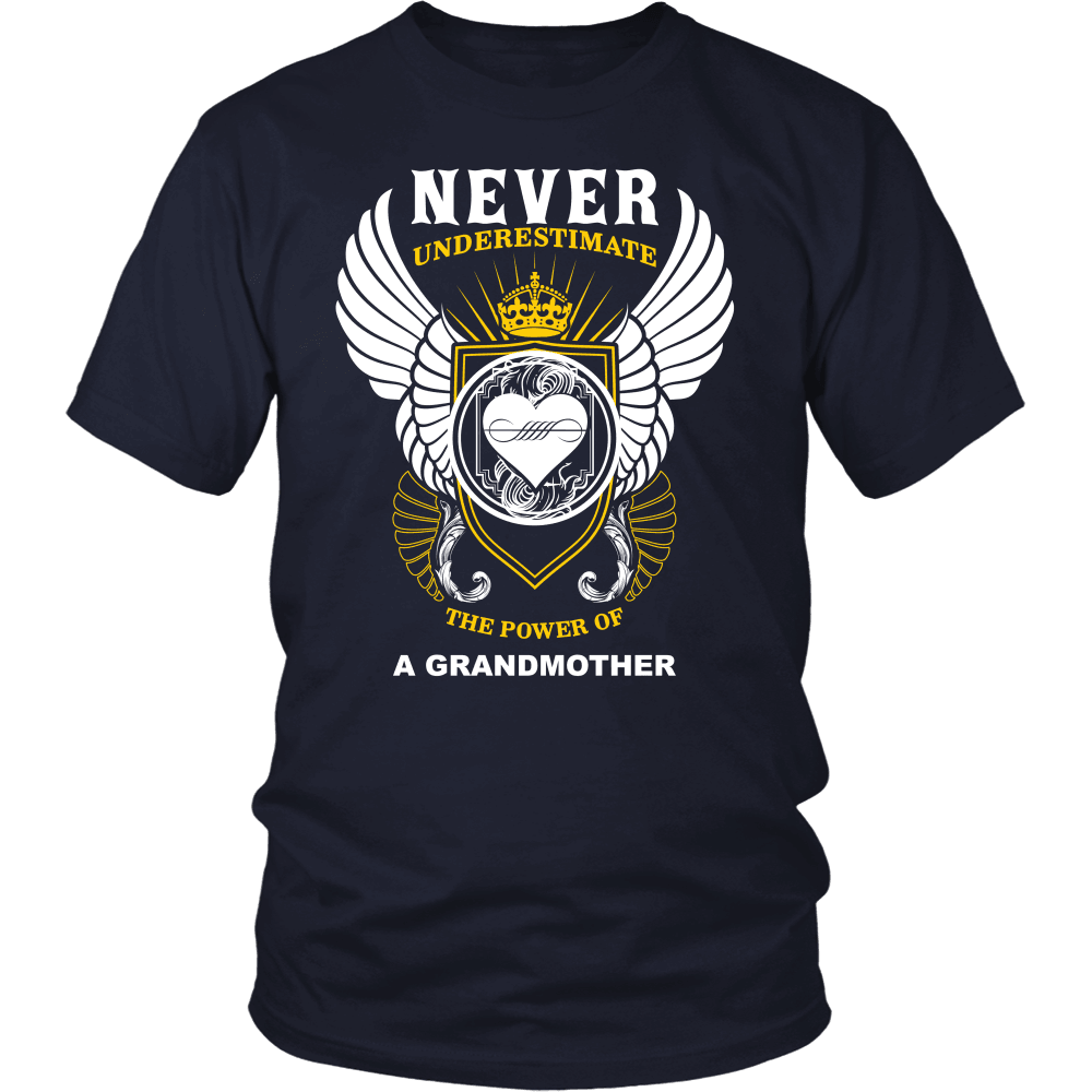 Grandparent T-Shirt Design - The Power Of A Grandmother