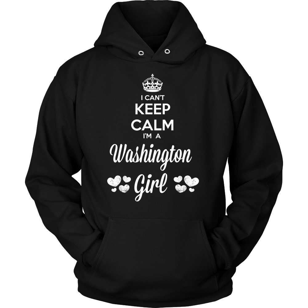 Washington T-Shirt Design - Can't Keep Calm Washington Girl