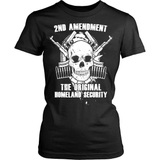 Gun T-Shirt Design - The Original Homeland Security