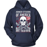 Gun T-Shirt Design - Armed Citizens Of America!