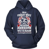Veteran T-Shirt Design - Veteran Wife