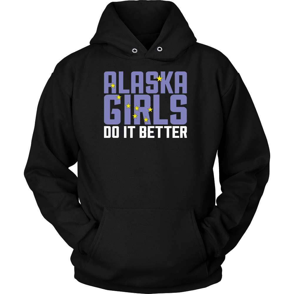 Alaska T-Shirt Design - Alaska's Girls Do It Better