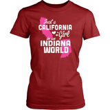 California T-Shirt Design - California Girl Indiana World