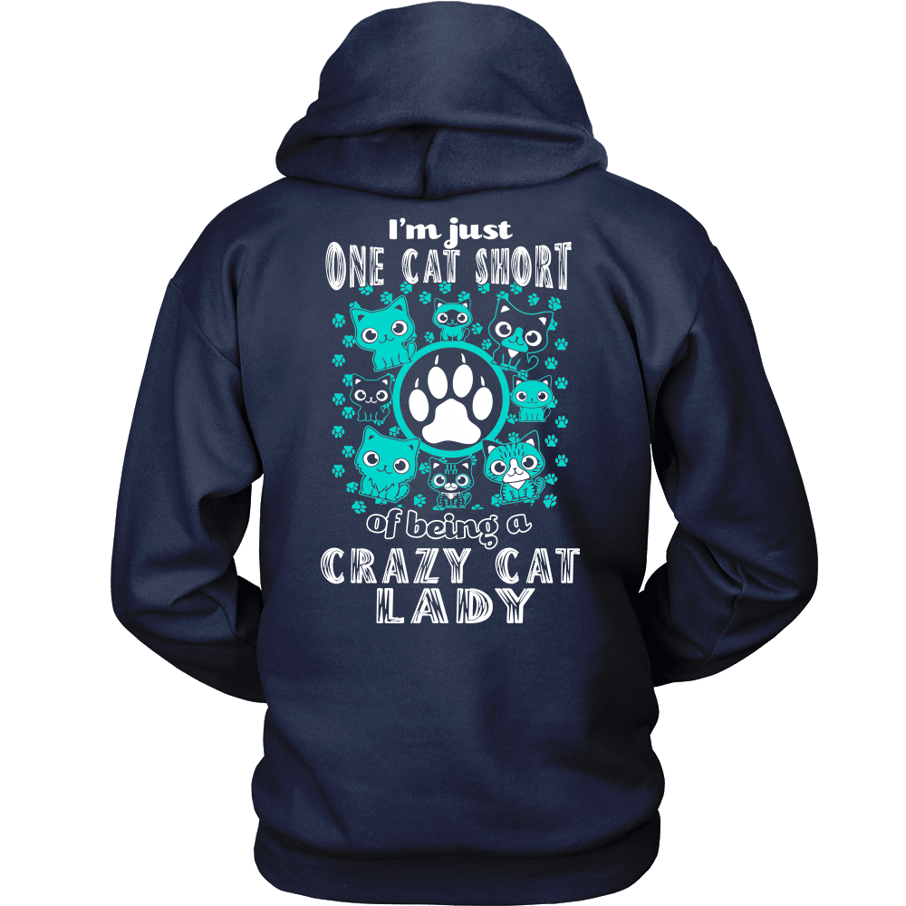 Cat T-Shirt Design - One Cat Short