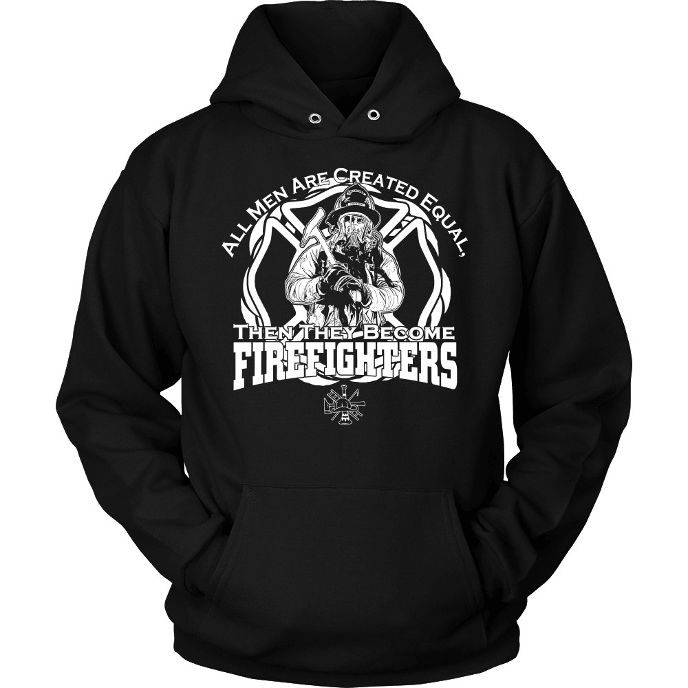 Firefighter T-Shirt Design - They Become Firefighters