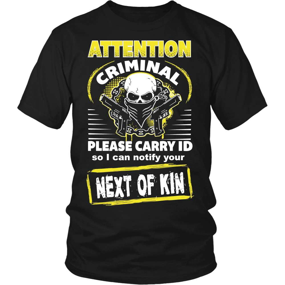 Gun T-Shirt Design - Next Of Kin