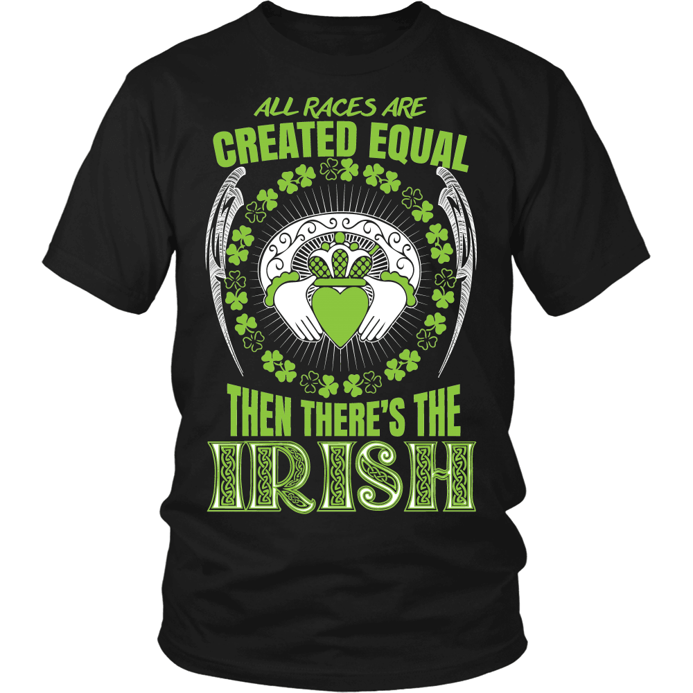 Irish T-Shirt Design - Then There's The Irish