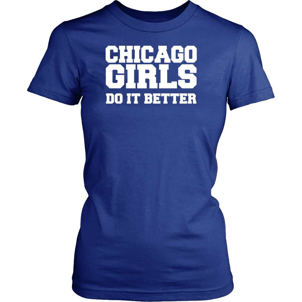 Illinois T-Shirt Design - Chicago Girls Do It Better