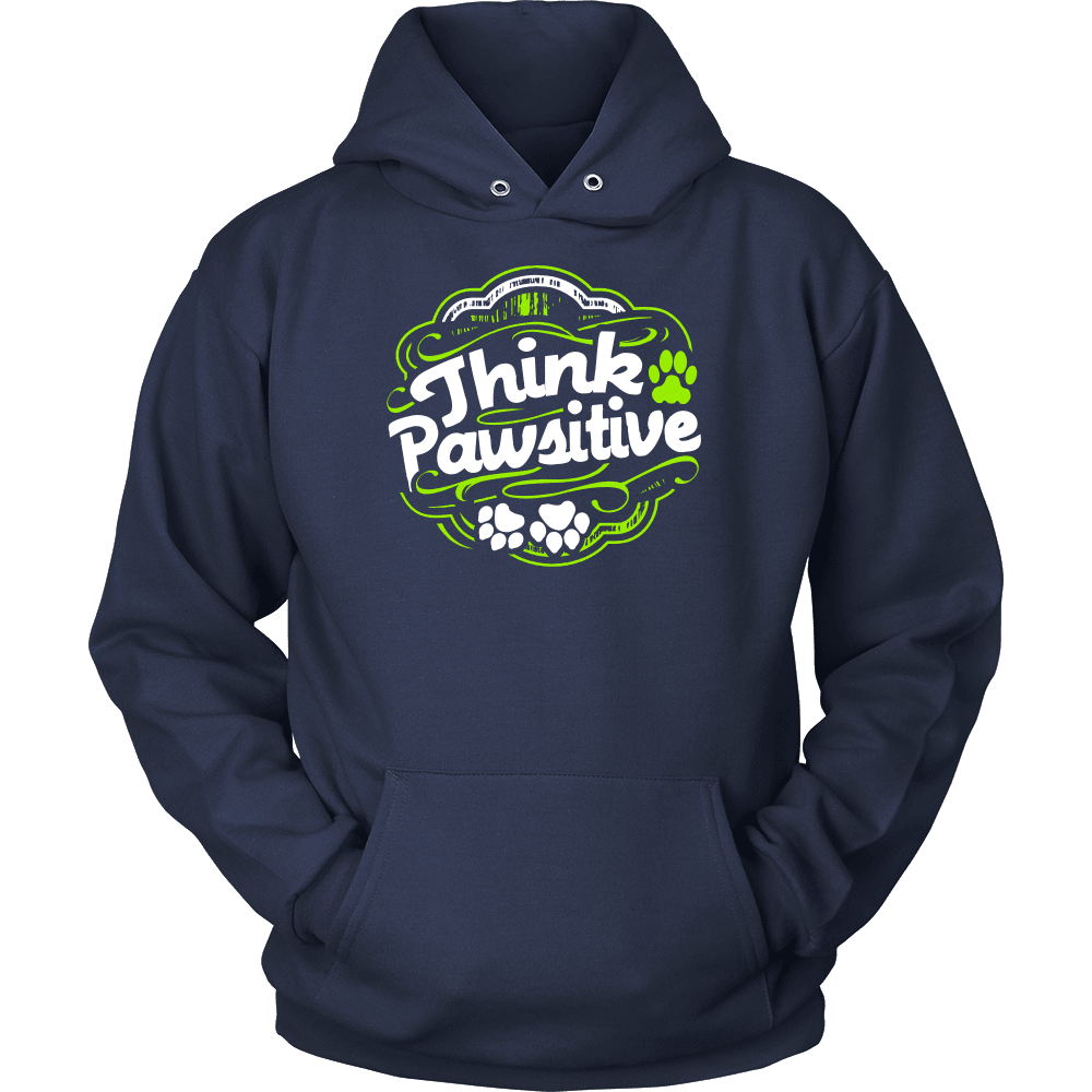 Dog T-Shirt Design - Think Pawsitive
