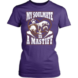 Mastiff T-Shirt Design - My Soulmate