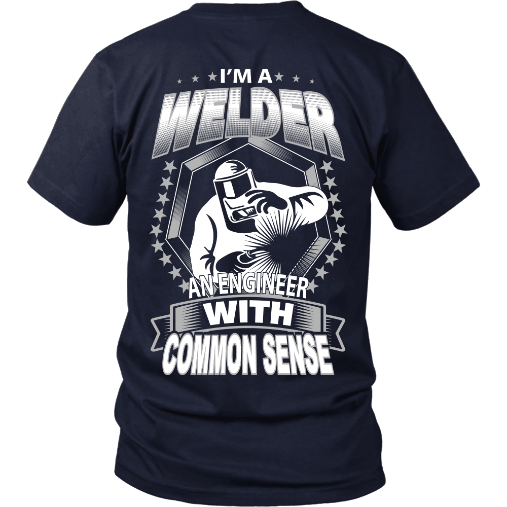Welder T-Shirt Design - Common Sense