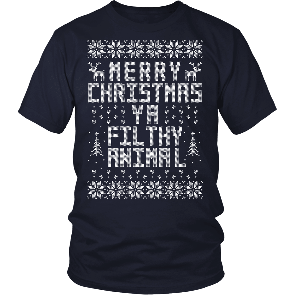 Christmas T-Shirt Design - Filthy Animal