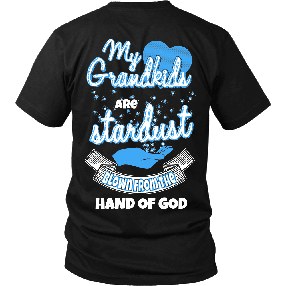 Grandparent T-Shirt Design - My Grandkids Are Stardust