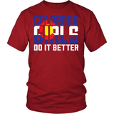 Colorado T-Shirt Design - Colorado Girls Do It Better