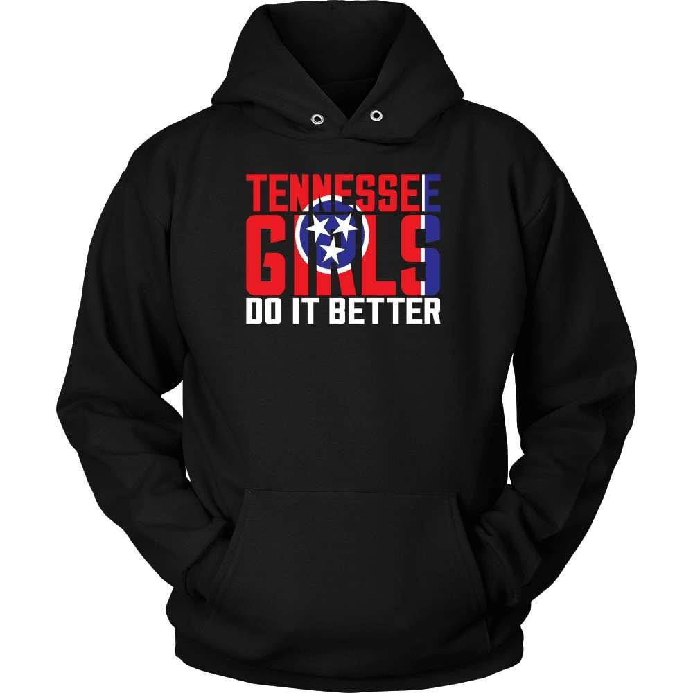 Tennessee T-Shirt Design - Tennessee Girls Do It Better - snazzyshirtz.com