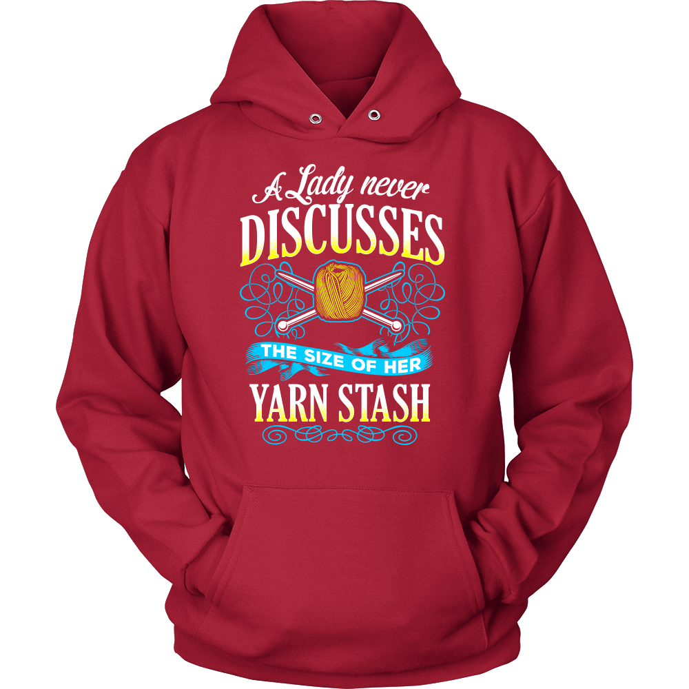 Knitting T-Shirt Design - My Yarn Stash
