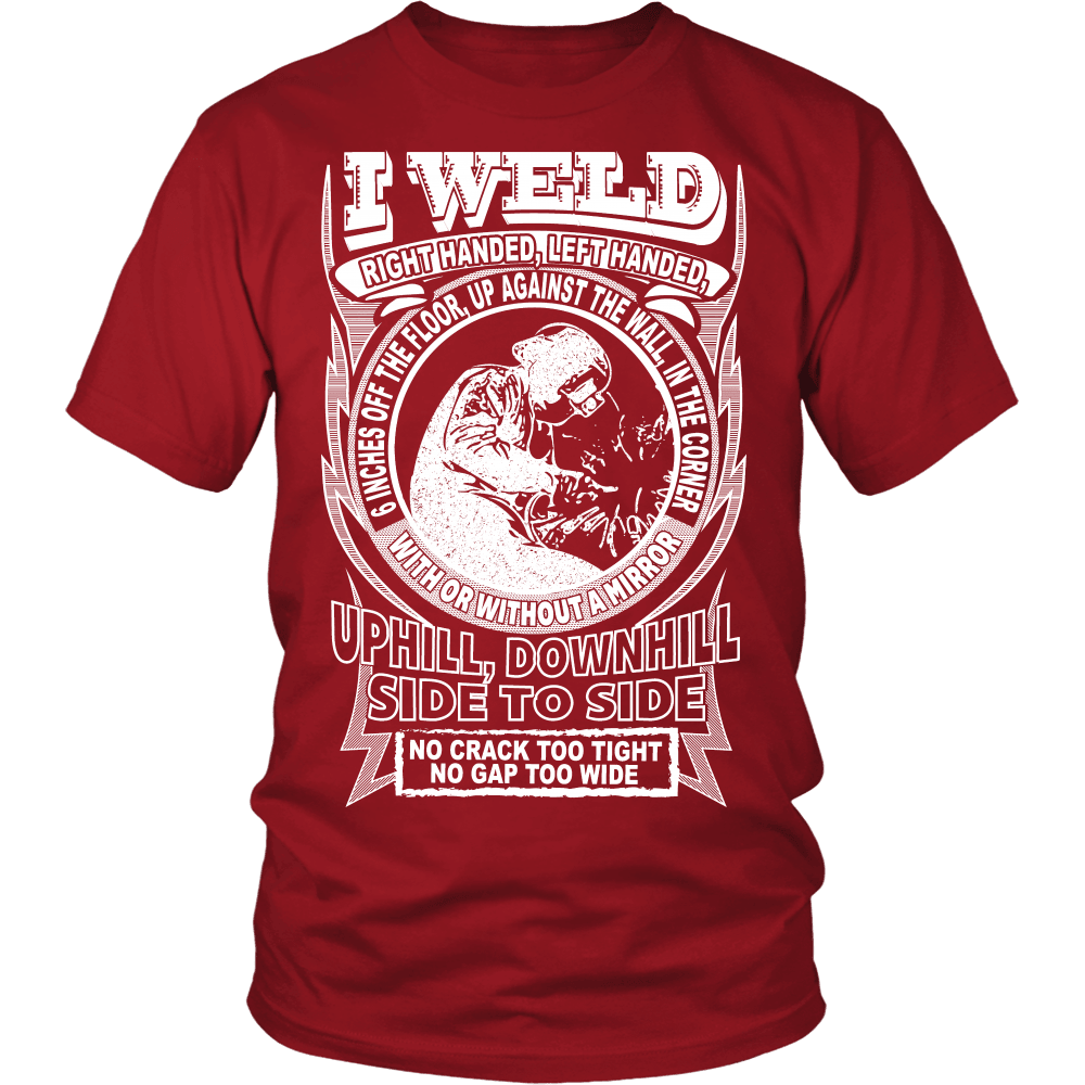 Welder T-Shirt Design - I Weld Right